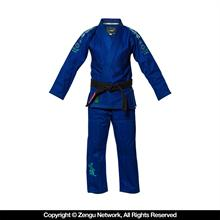 "Blue ""Blossom"" Girls Gi by Fuji"